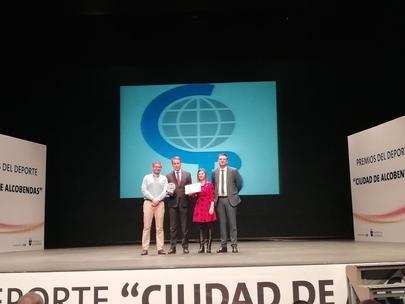El Colegio Base reconocido como mejor club deportivo de 2019 en Alcobendas