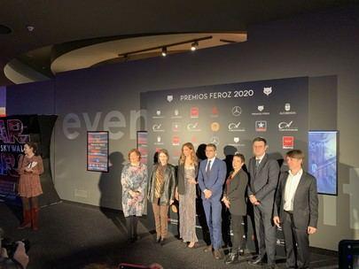 Alfombra roja en Alcobendas para la entrega de los VIII Premios Feroz