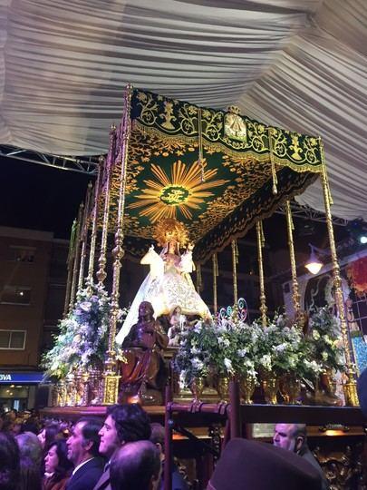 Alcobendas vuelve a rendir tributo a La Virgen de La Paz