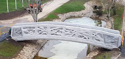 Alcobendas inaugura el primer puente 3D del mundo