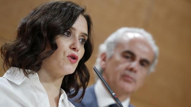 Querella colectiva contra la presidenta de Madrid por su gestión del COVID19