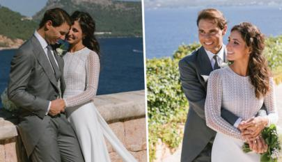 Las fotos del matrimonio Nadal-Perelló