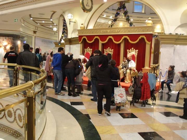 Los Reyes Magos ya están en Plaza Norte 2