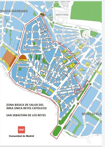 Restricciones de Movilidad en San Sebastián de los Reyes