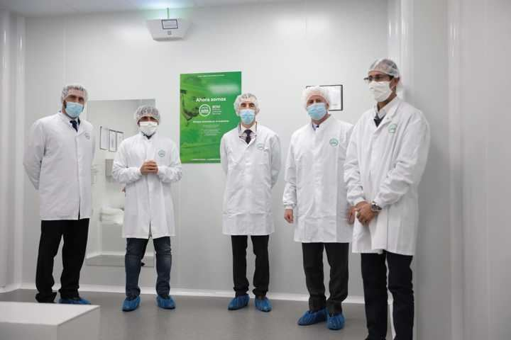 El Gobierno de SanSe visita la planta de laboratorios Rovi radicada en el municipio