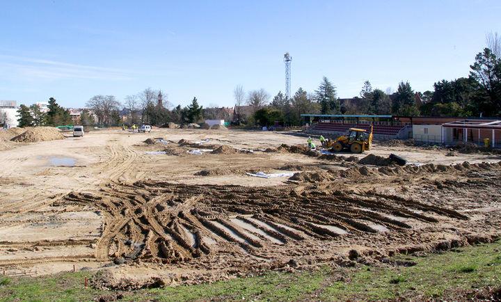 Retraso en las obras de remodelación del campo de Rugby de Las Terrazas