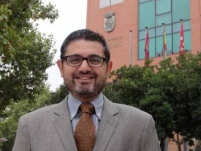 Imagen del portavoz del PSOE Alcobendas, Rafael Sánchez Acera