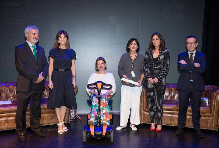 La Fundación Alares reconoce al colegio San Patricio