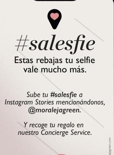 Hazte un selfie en Moraleja Green y consigue un regalo