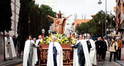 Procesiones de Semana Santa por las calles de Alcobendas