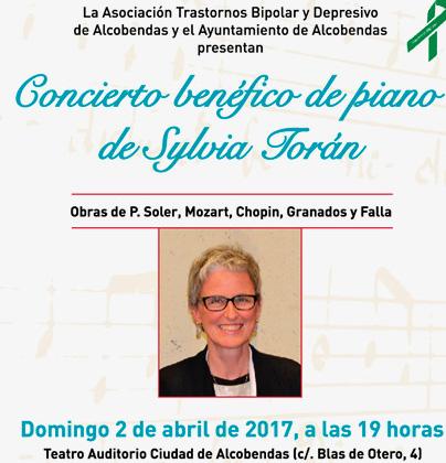 Concierto benéfico de piano con Sylvia Torán