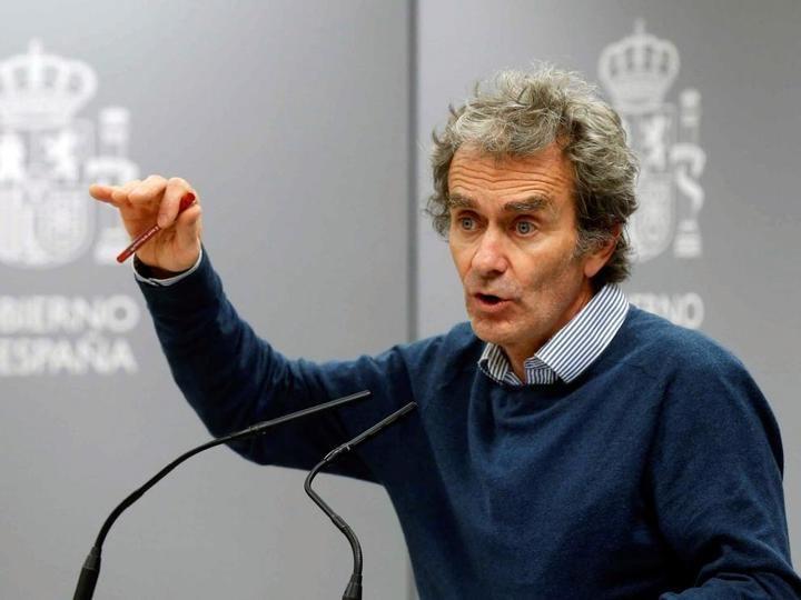 Fernando Simón: ``1.002 fallecidos, 19.900 contagiados y 1.141 ingresados en la UCI´´