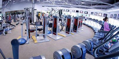 Imagen de la sala de musculación del gimnasio Zagros de La Moraleja