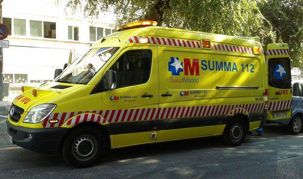 Una mujer y dos niños de corta edad han resultado heridos por un atropello en El Encinar