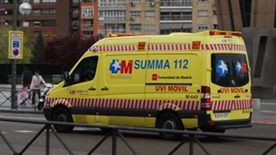 Un hombre herido grave por apuñalamiento en Alcobendas