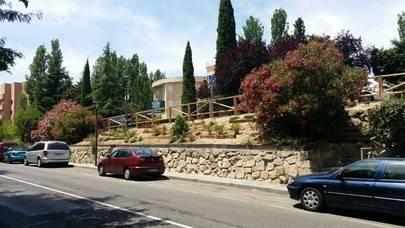 El Ayuntamiento termina la 'puesta a punto' del Talud de la calle Begonia