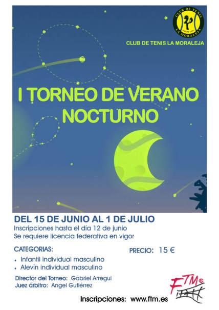 I Torneo de Verano Nocturno de tenis