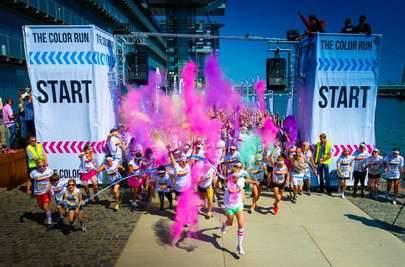 Cerca de 5.000 corredores participarán en The Color Run