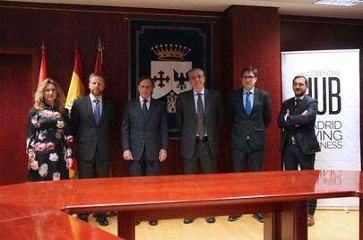 Alcobendas firma un convenio con la Cámara de Comercio e Industria Italiana