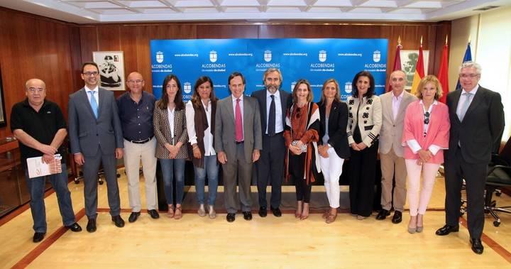 Imagen del acto de presentación de la carrera celebrado en el Ayuntamiento de Alcobendas