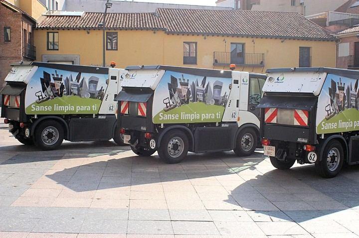 Sanse presenta nuevos medios técnicos en limpieza viaria