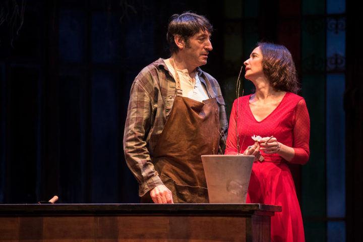 Carmelo Gómez y Ana Torrent se suben al escenario del Teatro Auditorio Ciudad de Alcobendas
