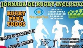 I Jornada de Rugby Inclusivo en Sanse