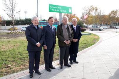 Alcobendas cambía el nombre a dos espacios para homenajear a la Constitución