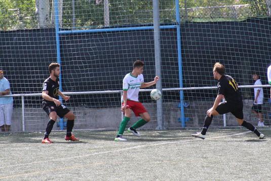 Imagen del partido disputado entre Trival Valderas y Alcobendas Levitt