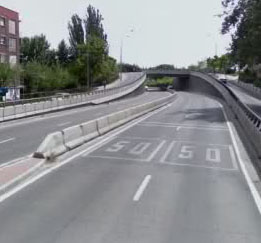 Reparaciones en el túnel del Paseo de La Chopera