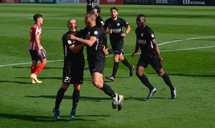 El Sanse se hace con la victoria frente al Atlético de Madrid B