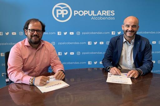 Luis Miguel Torres, nuevo Presidente del Partido Popular de Alcobendas