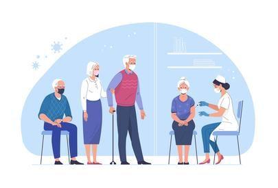 Comienza la vacunación a los mayores de 80 años
