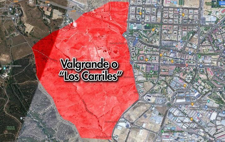 Valgrande o 'Los Carriles', un proyecto con una historia llena de dificultades y discusiones