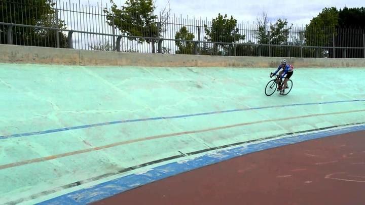 Duatlón Infantil en el Velódromo de Alcobendas