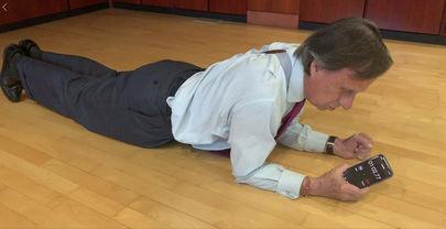 El 'Plank Challenger', un remedio para ponerse en forma