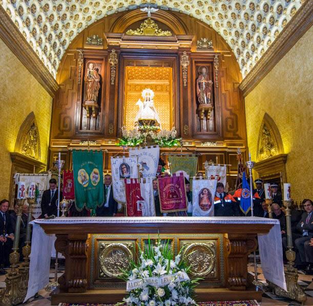 Miles de personas acompañaran a la Virgen de La Paz por las calles de Alcobendas