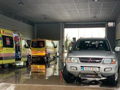 Voluntarios del municipio con 4X4 al rescate por 'Filomena'
