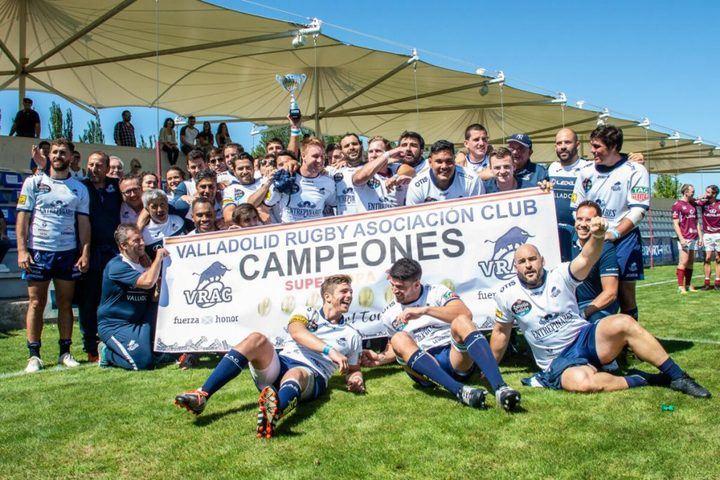 El VRAC doblegó al Lexus Alcobendas y ganó la Supercopa de España de rugby