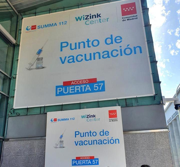 El WiZink Center vacunará también por la noche