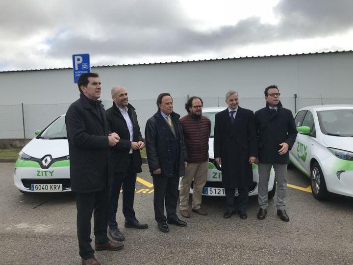 Renault instala sus coches de Carsharing en Alcobendas